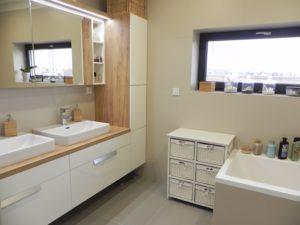 Koupelnový nábytek na míru Brno