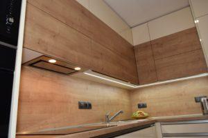 LED osvětlení kuchyně